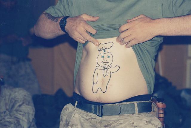 tattoo pillsbury boy dough iraq flickr gordo kbar map recent hive mind thumbnails
