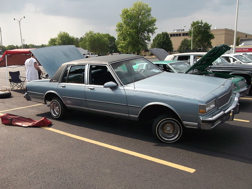 1987 Chevy Caprice Classic Lowrider 2 Seen At The 2nd