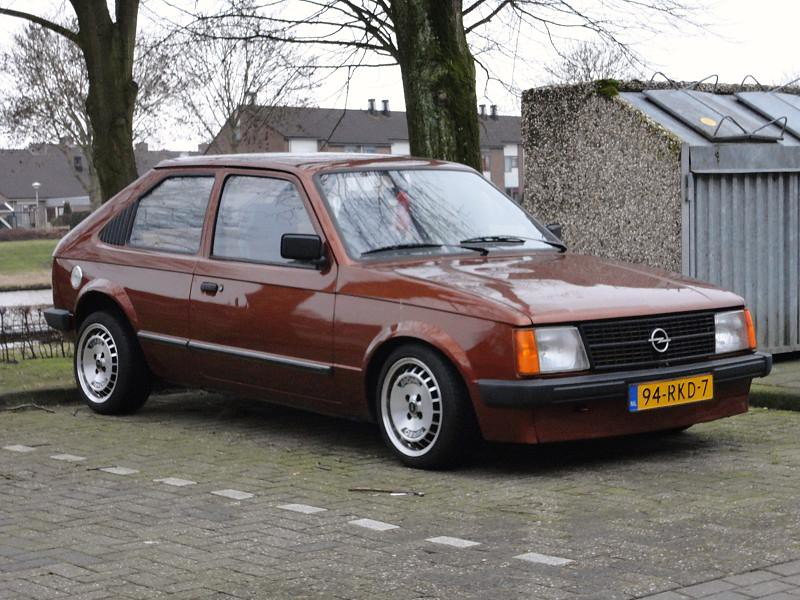 opel kadett d 14 4 1983 94 rkd 7 import in nl 1 6 201 flickr. Black Bedroom Furniture Sets. Home Design Ideas