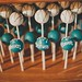 Cake Pops Piped and Drizzled