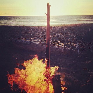Beach. Fire. Sunset. Perfect. | by jc_iverson (Imagery by Jordan)