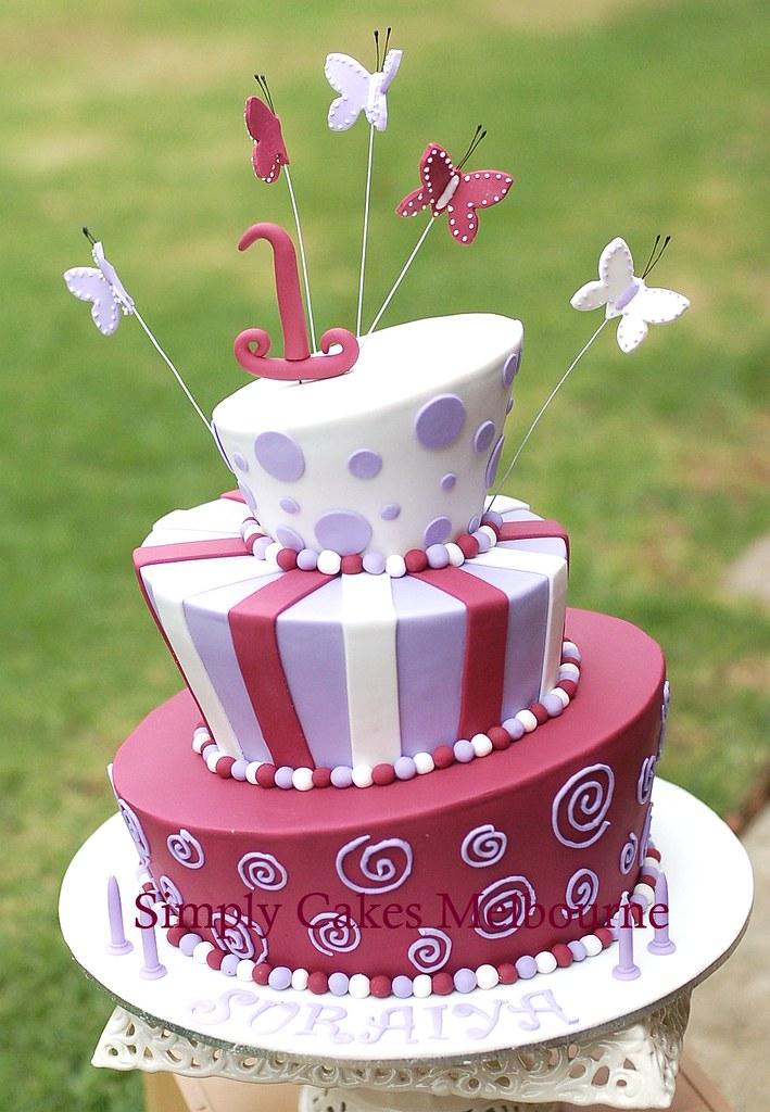 Mad Hatter Cake Mad Hatter Cake For 1st Birthday Suraiya Evi