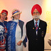 Balbir Singh with fans at The Olympic Journey exhibition © ROH 2012