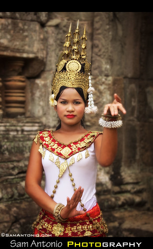 Apsara Dancer - Angkor Wat, Cambodia | by Sam Antonio Photography