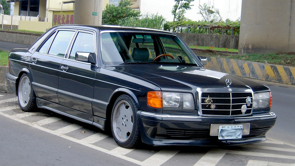 w126 amg body kit tsengpoting flickr. Black Bedroom Furniture Sets. Home Design Ideas
