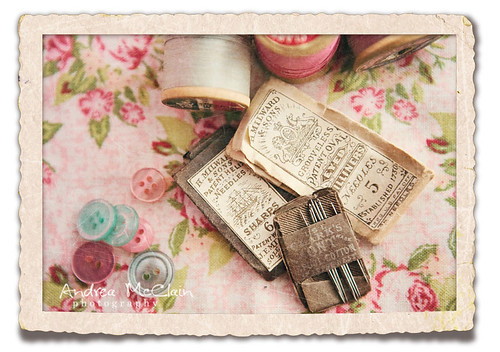 Vintage Needles & Thread | by Andrea McClain