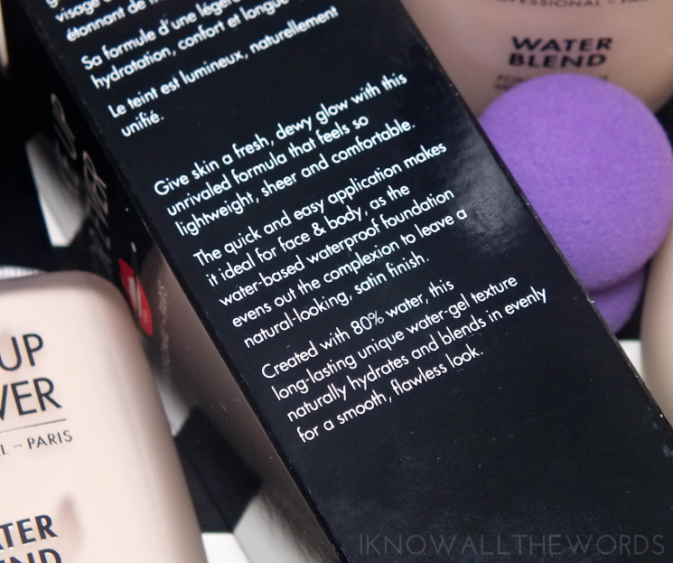 make up for ever water blend face & body foundation (2)