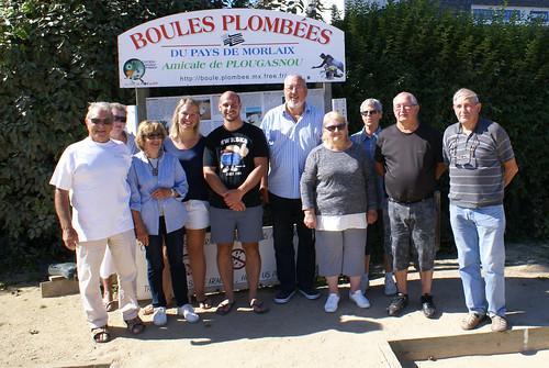 31/08/2016 - Plougasnou : 9ème et dernière séance d'initiation gratuite aux boules plombées