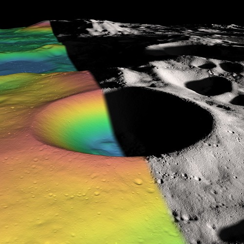 Researchers Estimate Ice Content of Crater at Moon's South Pole | by NASA Goddard Photo and Video