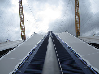 Up at the O2 walkway | by Matt From London