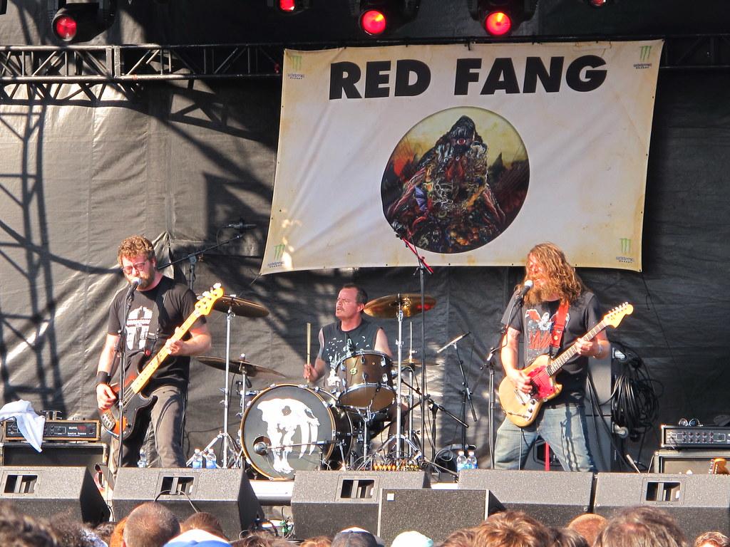 Red Fang - Bryan Giles, Aaron Beam & John Sherman   Red Fang…   Flickr