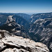 Yosemite Valley and Half Dome from Clouds Rest peak