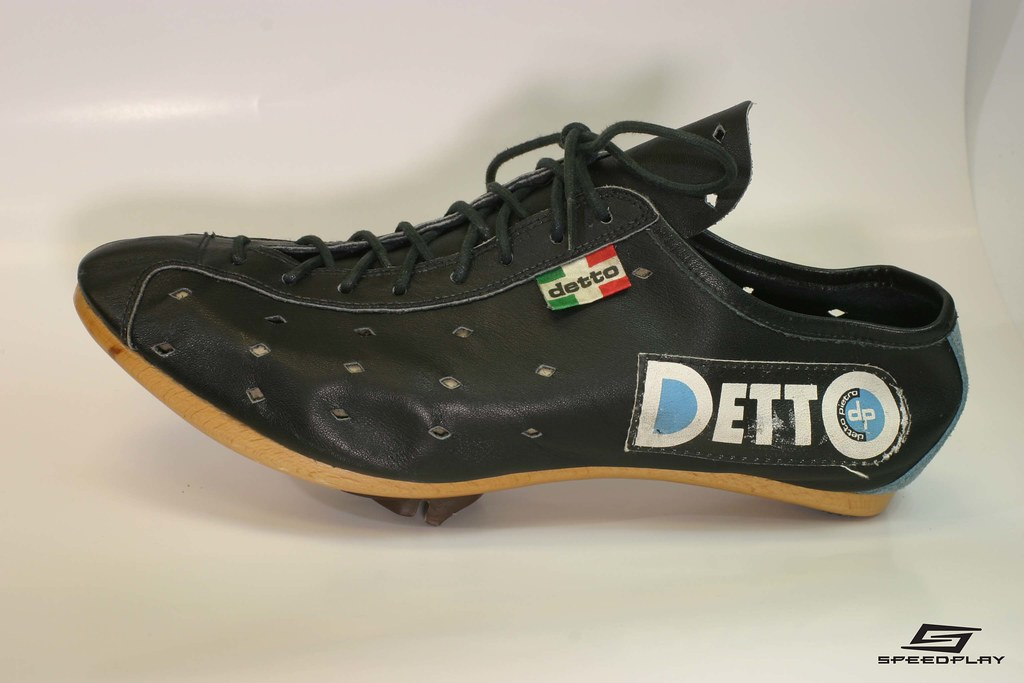 English Leather Cycling Shoes