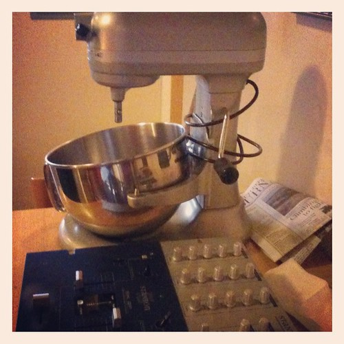 A mixer, and a mixer | by Schill