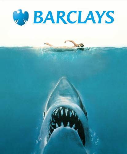 Barclays: We're not sharks | by Teacher Dude's BBQ