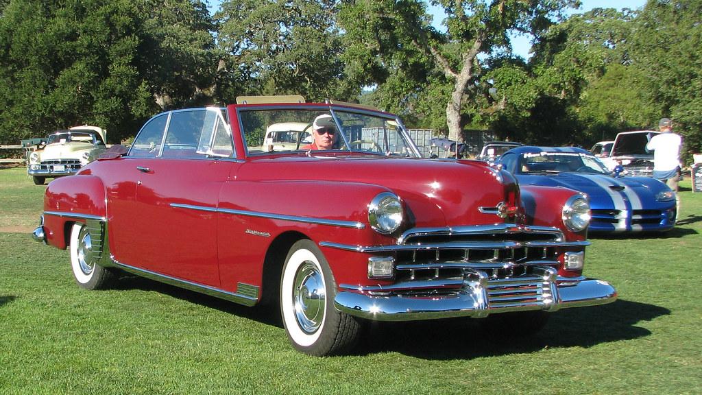 1950 Chrysler Windsor Highlander Convertible 1