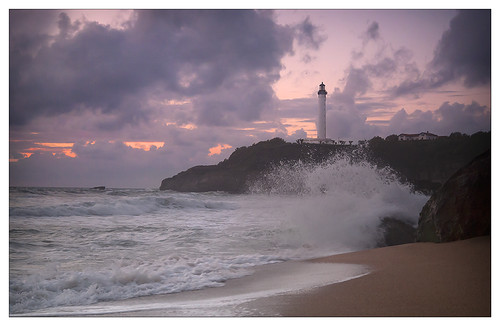Lighthouse Grand Plage Biarritz Small | by Ashley Lowry