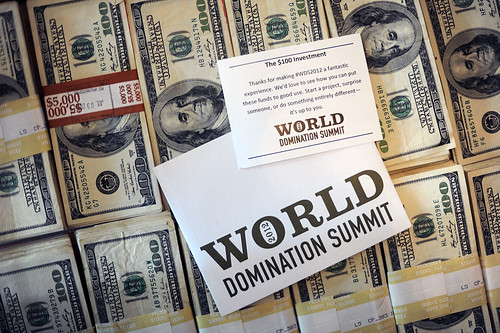The $100 Investment for World Domination Summit 2012 | by jdroth