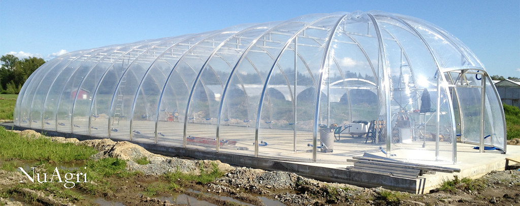 Biodome Greenhouse With Etfe Covering Nuagri S Main Goal