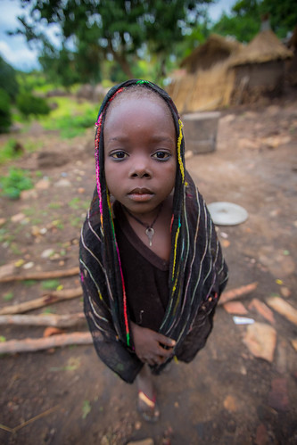 portrait of a little girl Taneka | by anthony pappone photography