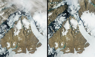 More Ice Breaks off of Petermann Glacier | by NASA Goddard Photo and Video