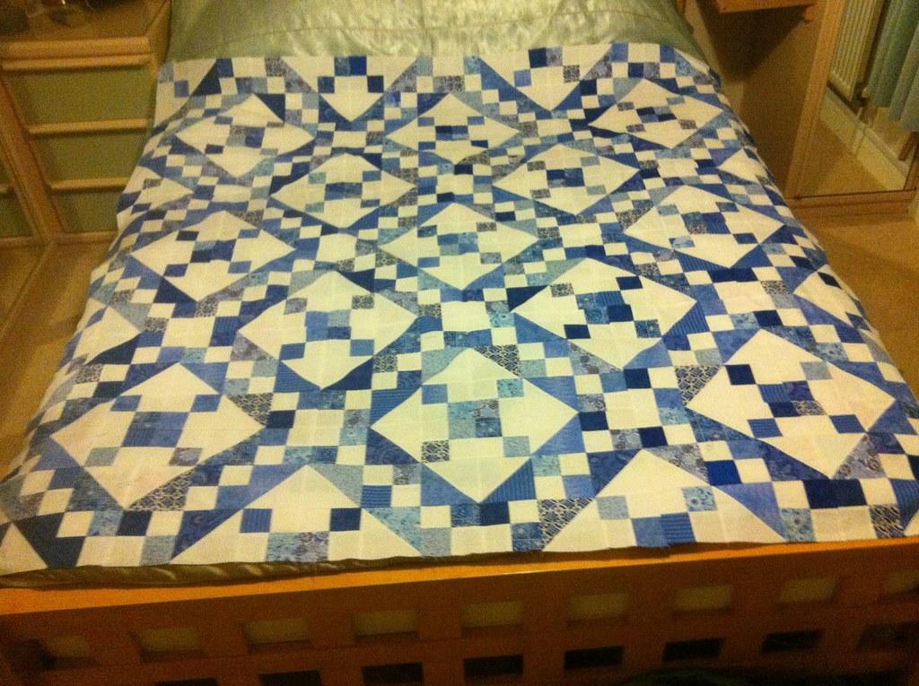 Jacob's Ladder Quilt | Borders to add | Josie1237 | Flickr : jacobs ladder quilt - Adamdwight.com