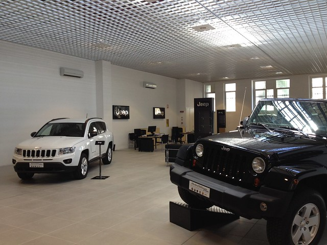 Motor Village Roma Il Nuovo Showroom Jeep Flickr Photo Sharing