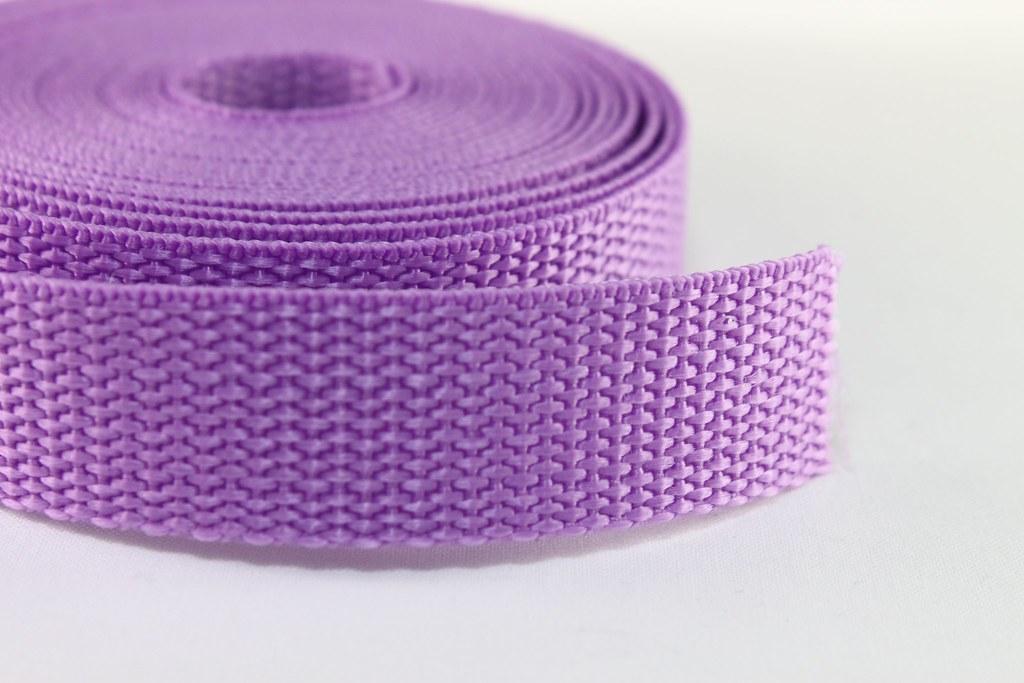 Gurtband 20mm lila