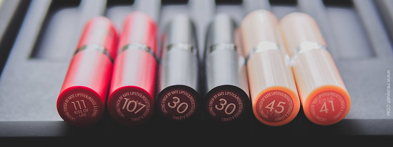 Rimmel KateMoss Lipsticks