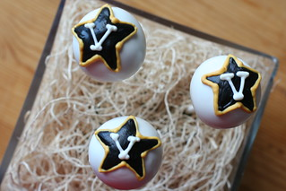 Vanderbilt Commodore Cake Pops | by Sweet Lauren Cakes