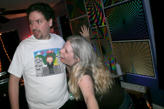20110402 2305 - Christie's Birthday Party - Clint, Carolyn - being goofy - (by the 8's) - GEDC5974 | by Rev. Xanatos Satanicos Bombasticos (ClintJCL)