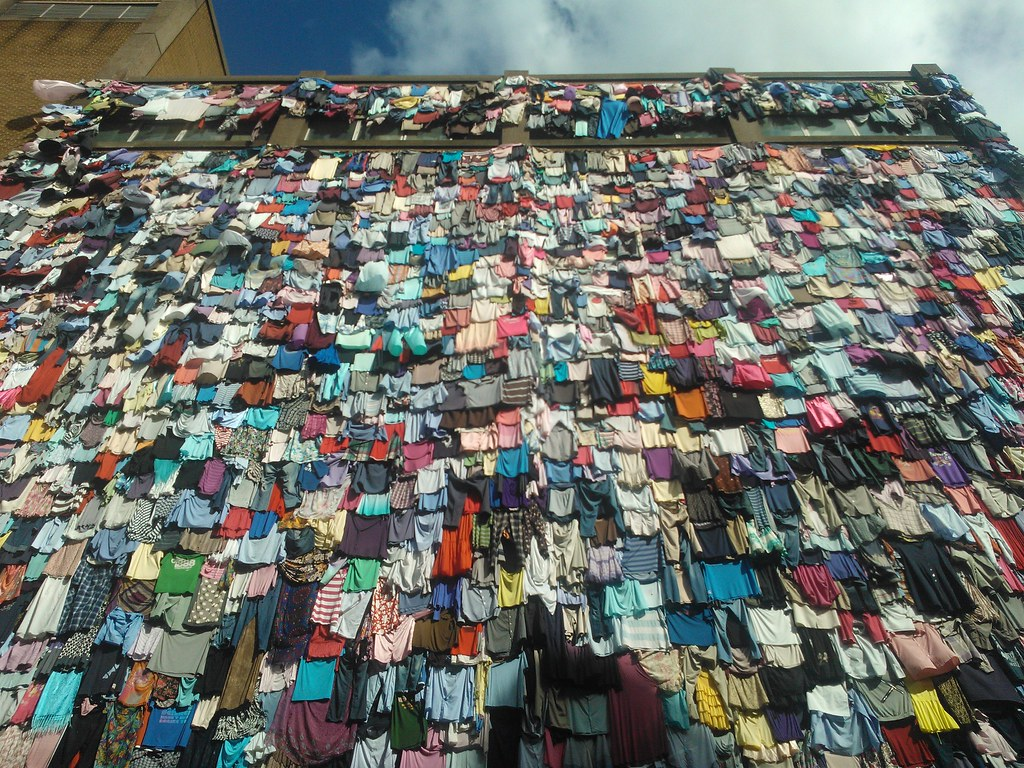Image result for clothes landfill