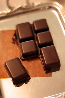 chocolate praline bar | by David Lebovitz