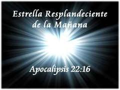 Resultado de imagen para APOCALIPSIS 22:16