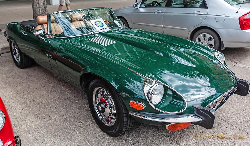 British Vintage Cars. Jaguar E Type | British Vintage Cars. … | Flickr