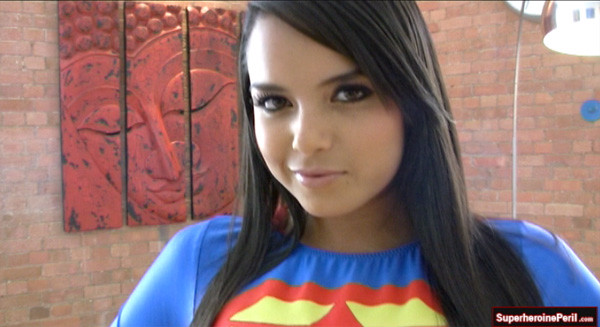 Sexy Supergirl  Download The Superheroine Tease Movie -4504
