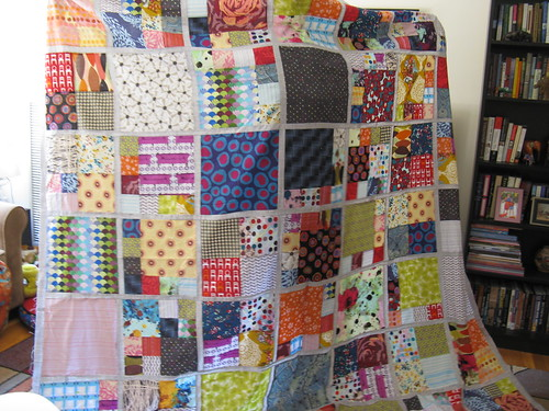 bed quilt top | by LittleOliveBranch