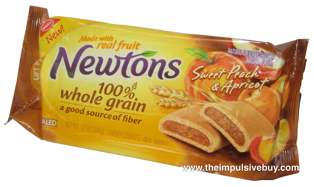 Nabisco Sweet Peach & Apricot Newtons   Click here to read o ... Apricot