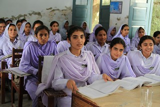 Girls in school in Khyber Pakhtunkhwa, Pakistan | by DFID - UK Department for International Development