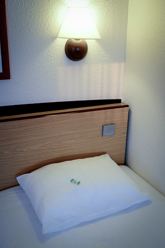 Mat 14th 2012 - Hotel Room | by The Hungry Cyclist