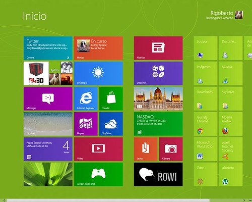 Windows 8 Start | by RigobertoDC
