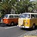 Colourfull Volkswagen Vans - Auto Parade Funchal 2012