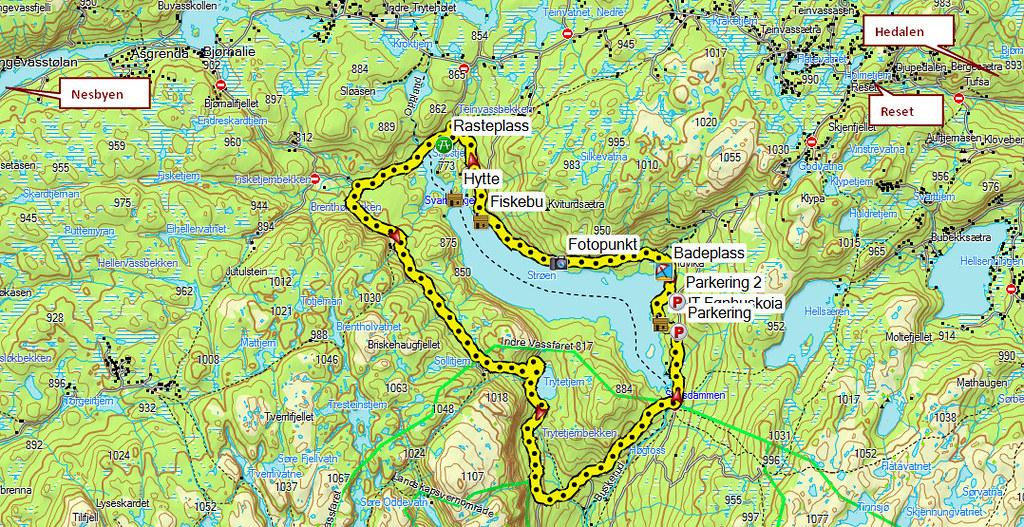 vassfaret kart 1206 28 Kart 2 | Kjell Arne Berntsen | Flickr vassfaret kart