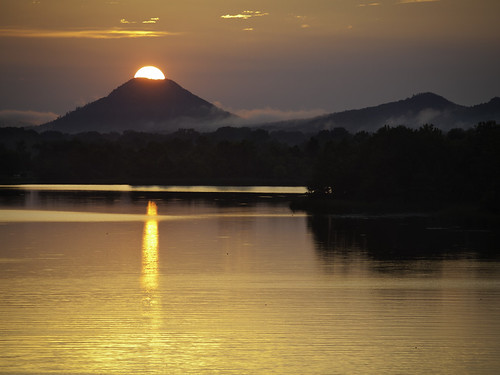 Pinnacle Mountain Erupting