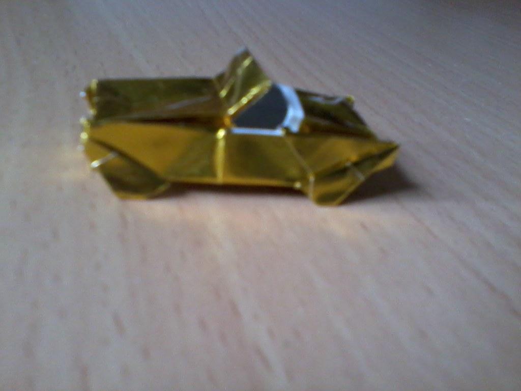 Mini Origami Sports Car