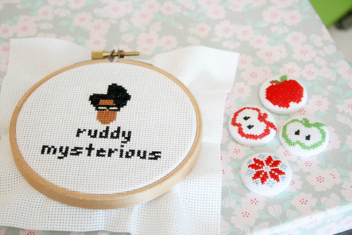 Cross stitch stuff | by Guðmunda