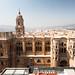 Catedral de Málaga desde las alturas