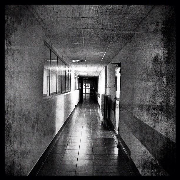 Lunatic asylum entrance hospital psychiatric corridor flickr - Corridor entrance ...