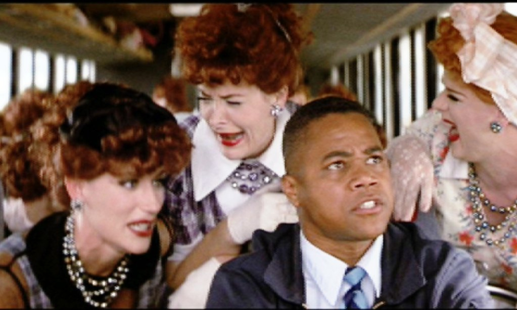 Rat Race 2001 With Cuba Gooding Jr And A Bus Load Of