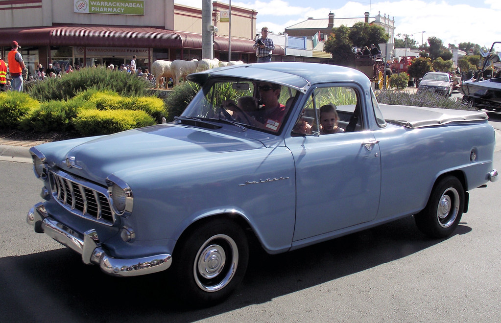 1956 Holden Fe Ute Rarely Seen Today Is This 1956 Holden